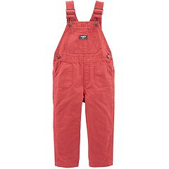 Toddler Boy OshKosh B'gosh® Pork Chop Pocket Canvas Overalls