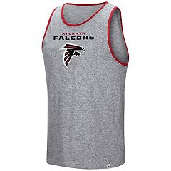 Men's Majestic Atlanta Falcons Go the Route Tank Top