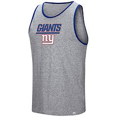 Men's Majestic New York Giants Go the Route Tank Top