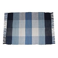 Park B. Smith Agra Chindi Plaid Rug