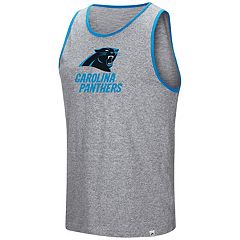 Men's Majestic Carolina Panthers Go the Route Tank Top