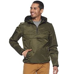Men's XRAY Reflective Hooded Quarter-Zip Pullover Jacket