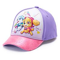 Toddler Girl Paw Patrol Skye & Everest Baseball Cap Hat
