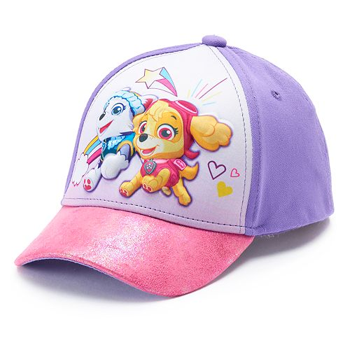 6f6904030 Toddler Girl Paw Patrol Skye & Everest Baseball Cap Hat