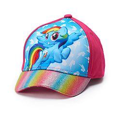 Toddler Girl My Little Pony Rainbow Dash Baseball Cap Hat