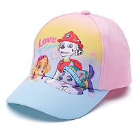 Toddler Girl Paw Patrol Marshall, Skye & Everest Baseball Cap Hat