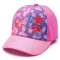 Toddler Girl DreamWorks Trolls Poppy Glitter Baseball Cap Hat