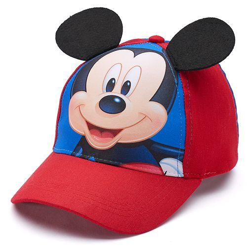 e2044fe8209e7 Disney s Mickey Mouse Toddler Boy Baseball Cap Hat