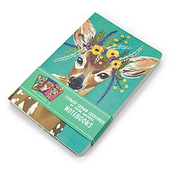 OCS Flower Crown Creatures Notebook 3-piece Set