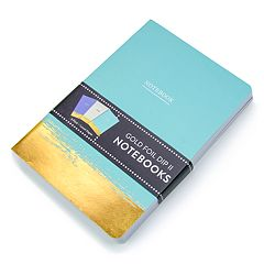 OCS Gold Foil Dip Notebook 3-piece Set