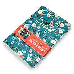 OCS Secret Garden Floral Notebook 3-piece Set