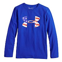 Boys 8-20 Under Armour Flag Logo Tee