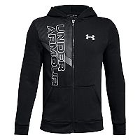 Boys 8-20 Under Armour Off Court Fleece Full-Zip Hoodie