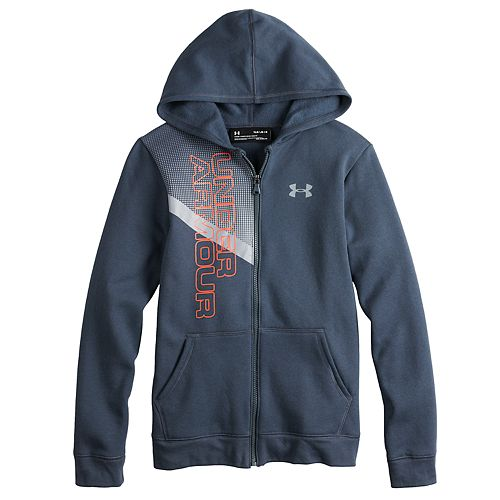 5cc6d6794 Boys 8-20 Under Armour Off Court Fleece Full-Zip Hoodie