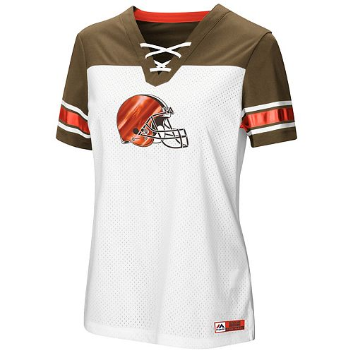 Women s Majestic Cleveland Browns Draft Me Tee 6c3ca64e7