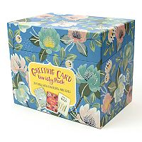 OCS Bold Blossoms Greeting Card Variety Pack 72-piece Set