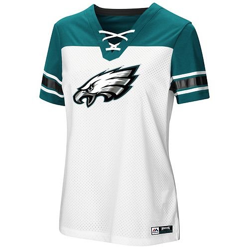 f08739d03 Women's Majestic Philadelphia Eagles Draft Me Tee