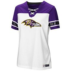 Women's Majestic Baltimore Ravens Draft Me Tee