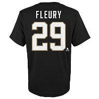 Boys 8-20 Vegas Golden Knights Marc-André Fleury Name and Number Tee