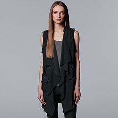 Women's Simply Vera Vera Wang Draped Utility Vest
