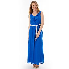 Women's Apt. 9® Gauzy Ruffle Maxi Dress
