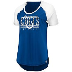 Women's Majestic Indianapolis Colts Break the Win Tee