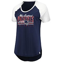 Women's Majestic New England Patriots Break the Win Tee