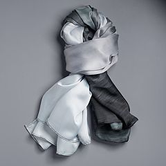 Simply Vera Vera Wang Horizon Colorblock Oversized Wrap Scarf