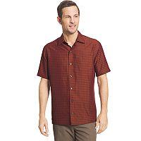 Big & Tall Van Heusen Air Classic-Fit Dobby Casual Button-Down Shirt