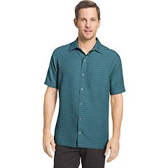 Big & Tall Van Heusen Air Classic-Fit Dobby Casual Button-Down Shirt