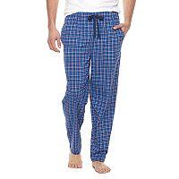 Big & Tall Chaps Plaid Knit Sleep Pants