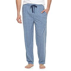 Big & Tall Chaps Plaid Knit Sleep Pants