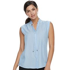 Women's Apt. 9® Tie Accent Blouse