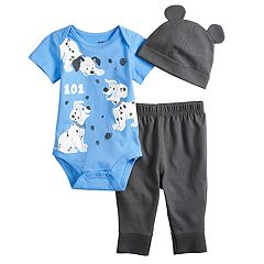 Disney's 101 Dalmatians Baby Bodysuit, Pants & Hat Set by Jumping Beans®