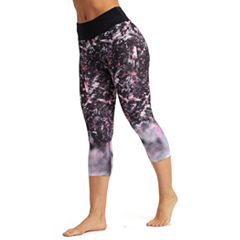 Women's Marika Ava Blurred Print High-Waisted Capri Leggings