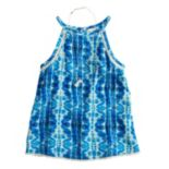 Girls 7-16 & Plus Size Mudd® Crochet Trim Tank Top with Necklace