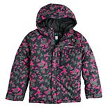 Boys 4-7 Columbia Sledding Down Heavyweight Hooded Jacket