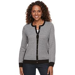 Women's Croft & Barrow® Textured Extra Cozy Cardigan