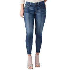 Juniors' DENIZEN from Levi's Seamed High-Waisted Ankle Jeggings