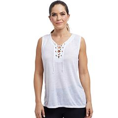 Women's Balance Collection Effie Lace-Up Tank