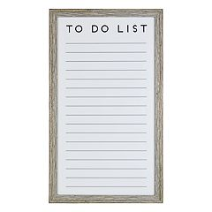 Belle Maison 'To Do' Magnetic Dry Erase Board 7-piece Set