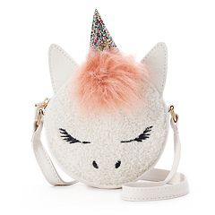 OMG Accessories Unicorn Animal House Mini Canteen Crossbody Bag