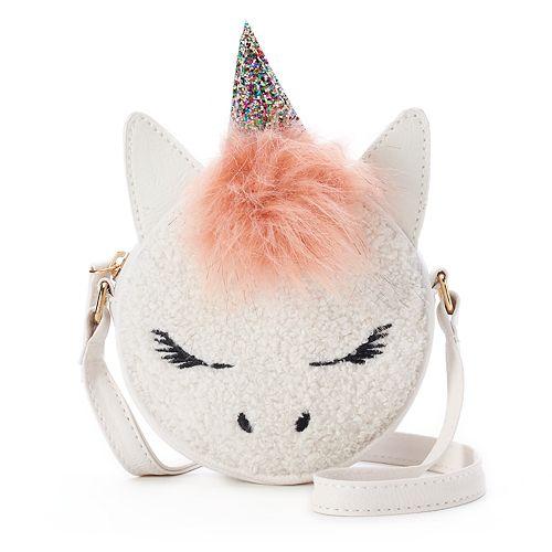 OMG Accessories Unicorn Animal House Mini Canteen Crossbody Bag