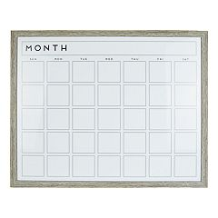 Belle Maison 'Month' Dry Erase Board Wall Decor