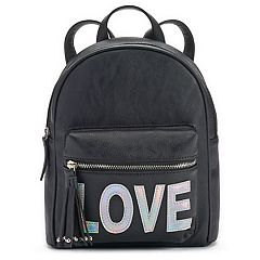 Love Hologram Mini Backpack
