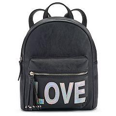 Love Hologram Mini Backpack