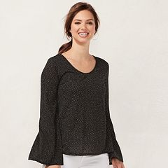 Women's LC Lauren Conrad Flare-Sleeve Top