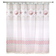 Avanti Coronado Shell Shower Curtain