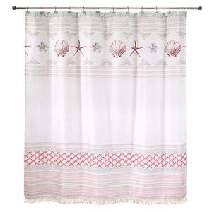 Avanti Coronado Shell Shower Curtain Hooks