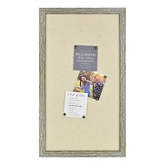 Belle Maison Rustic Bulletin Board & Pin 7-piece Set